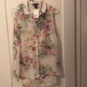 Pretty spring blouse